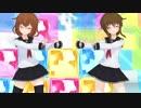 [MMD艦これ]電×雷「ハートキャッチ☆パラダイス!」1080p(カメラモーション配布)