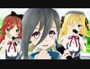 【MMD艦これ】 タイムマシン 清霜(艦これ) 霜月ポトフちゃん サラミ 1080p 【MMD】 MikuMikuDance