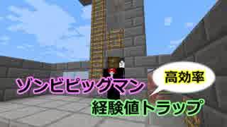 【Minecraft】高効率ゾンビピッグマン経験
