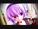 【東方MMD】制服・サトりんで『君色に染まる』1080p
