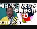 朝日・毎日・東京新聞に共産党が大広告、政治的中立はどうした