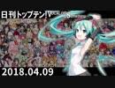 日刊トップテン!VOCALOID&something【日刊ぼかさん2018.04.09】