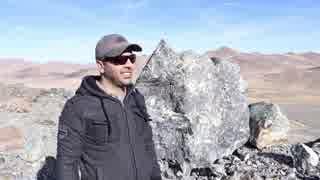 【衝撃映像】巨大岩石を50Cal焼夷徹甲弾で