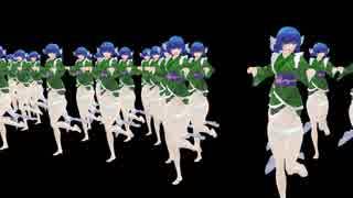 【東方MMD】わかさぎ姫が走るだけ