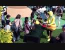 【鈴鹿サーキット:ぶんぶんうんどうかい】花粉団子リレー(ボール送り) となりの友達に届けよう!に参加するあい❤遊園地 お出かけ イベント
