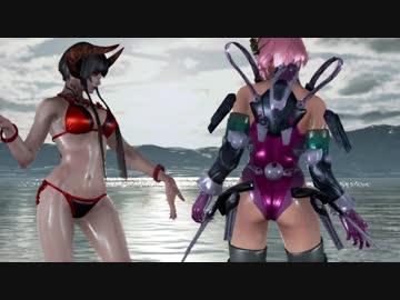 I ❤アリサ Alisas wet body Tekken 7 appreciation