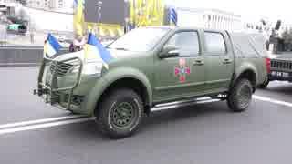 ウクライナ軍の新型多目的車「bogdan 2351」