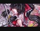 油絵で東方Project博麗霊夢を描いてみた