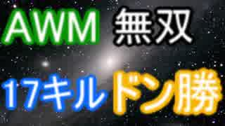 PUBG AWM無双 17キル!(字幕実況)