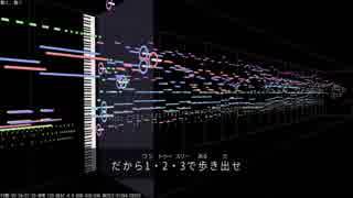 【MIDI】少女終末旅行OP「動く、動く」を