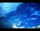 静かな波の音と雨が降る音(睡眠用BGM・作業用BGM)