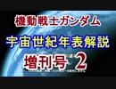 【機動戦士ガンダム】宇宙世紀年表解説 増刊号 【ゆっくり解...
