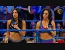【WWE】アスカ&ベッキー・リンチvsジ・アイコニックス【SD 4.24】