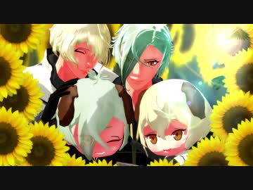 【MMD Touken Ranbu】 Inu Mimi Switch 【sword dog hair cut, sword dog Knee Round Model planned to be distributed】
