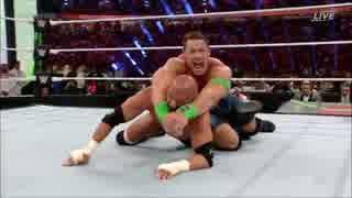 【WWE】ジョン・シナvsHHH【GRR 4.27】