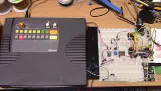 Arduino nanoとYMZ294x2個で六重和音
