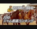 【最新】月刊シャム動画ランキング 2018年2・3月合併号