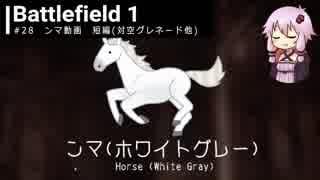 BF1動画 ンマ 短編(対空グレネード他)【