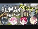 【Human Fall Flat】OZooでHuman Fall Flatをやるとこうなる【OZoo】