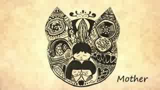 ( 'ω'o[ 母の日に姉妹で Mother 描いたり