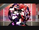 【東方MMD】美鈴と咲夜で「乱躁滅裂ガール」