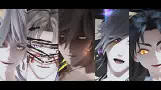 【MMD刀剣乱舞】神と妖の宵々古今(おだて)