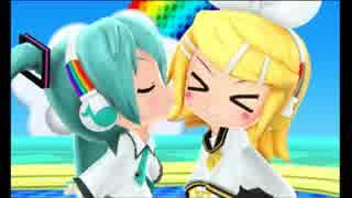 [3DS]miraiでらっくす 逆さまレインボー[逆さまレインボー ミク&リン]