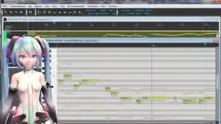 Hatsune Miku v4x - Ray  Karaoke ver  +v