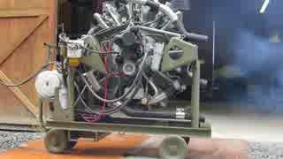 星型9気筒空冷ディーゼルエンジン ギバー