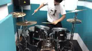 【こみっくがーるず OP drums】Memories(F