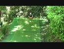 【城山オレンヂ園】恐怖の芝すべりをするあい❤頭の打ちそうなブランコで立ち漕ぎ お出かけ