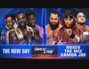 【WWE】ニュー・デイvsザ・ミズ&サモア・ジョー&ルセフ【SD 6.5】