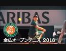 全仏オープンテニス2018予告