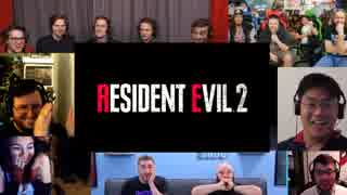 【E3 2018 海外の反応】バイオ2のリメイク発表の瞬間の海外の反応まとめ「バイオハザード2(バイオハザード RE:2)」Resident Evil 2 E3 2018 Trailer