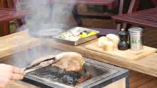 炭火焼 豚