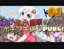 ゆかあか饅頭のポチンキ縛りPUBG!! #1【ゆっくり&VOICEROID実況】