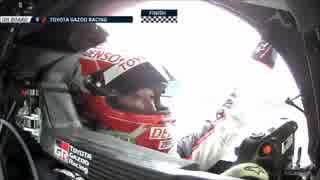 ル・マン24時間耐久レースで初優勝を成し遂げたトヨタUC