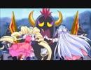 キュアマシェリとキュアアムールの戦闘シーン【HUGっと!プリキュア】