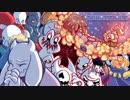【UT_AU Comic_Dub】Zombietale episode2 and intermission【スノーディン編・キャ...