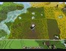 【マインクラフト】最大地図一枚分を小麦