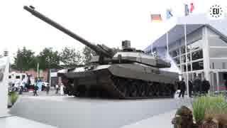 レオパルト2の車体にルクレールの砲塔 新