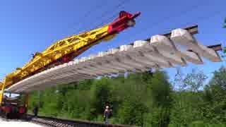 ロシアの鉄道の保線方法が合理的すぎる
