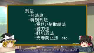 【ゆっくり解説】刑法1 刑法の機能