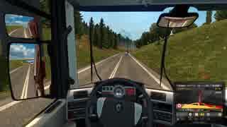 【実況】トラックボールマウスでトラック運転します 後編【ETS2】