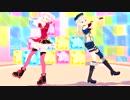 【MMD】ビバハピ(田中ヒメ&鈴木ヒナ)1080P