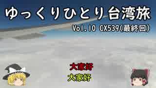 【ゆっくり】ひとり台湾旅2018(冬)Vol.10