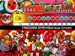 【太鼓さん次郎】FREEDOM DiVEとGlorious Crownを繋げてみた【創作譜面】