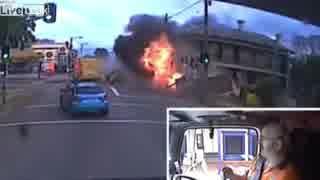 【ドラレコ】世界の交通重大事故・死亡事