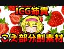 ICG姉貴 こえ部分割素材配布