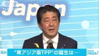 """16カ国参加の""""東アジア版TPP"""" 都内で閣僚会合"""